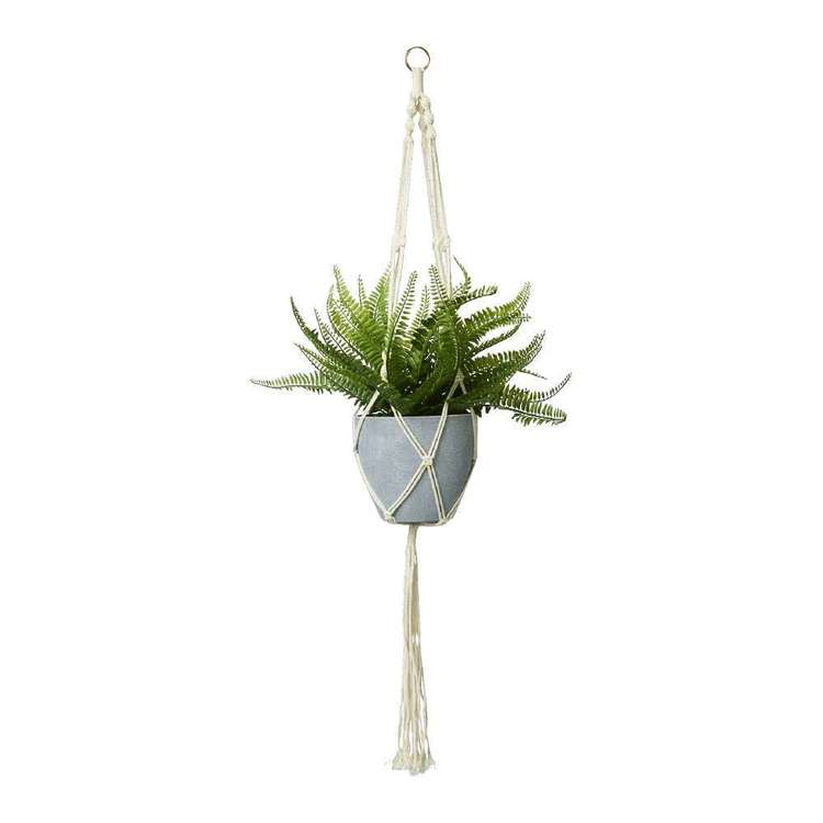 Botanica Hanging Artificial Fern
