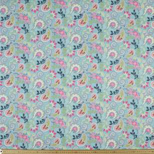 Studio E Boho Blooms Paisley Cotton Fabric