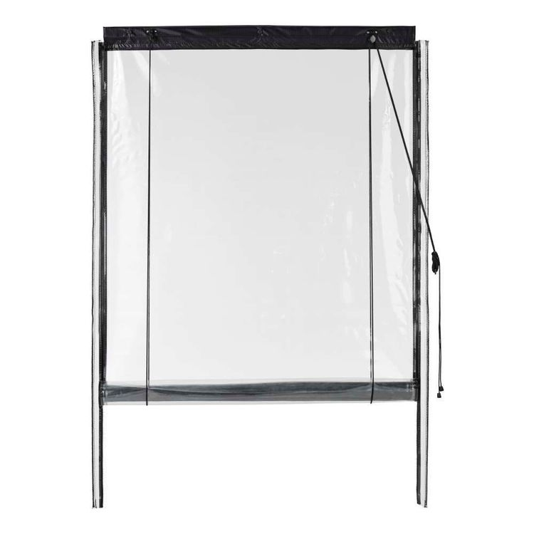 Caprice Platinum Heavy Duty Patio Blind Clear
