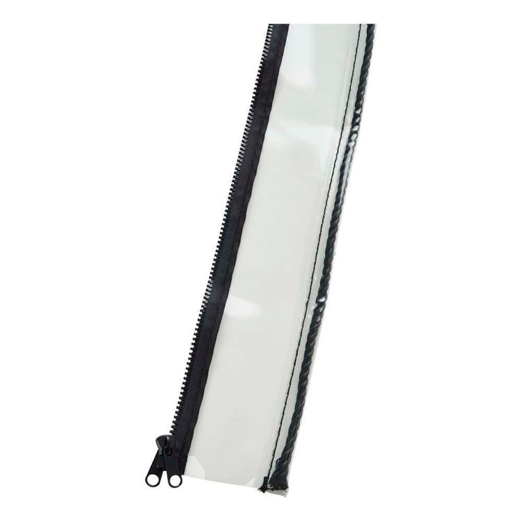 Caprice Platinum Patio Blind Extender Clear