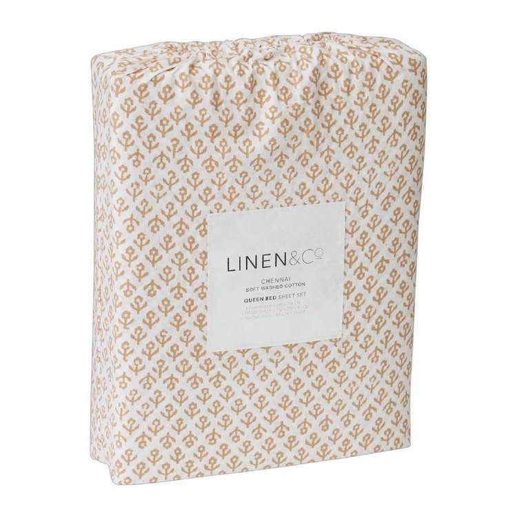 Linen & Co Chennai Cotton Sheet Set