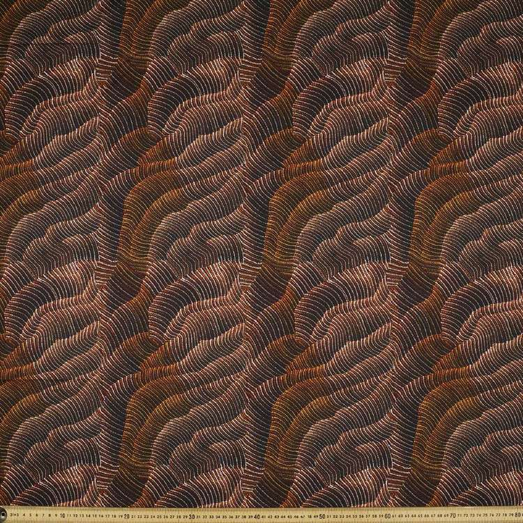 Australiana Indigenous Maureen Sand Dunes 1 Cotton Fabric