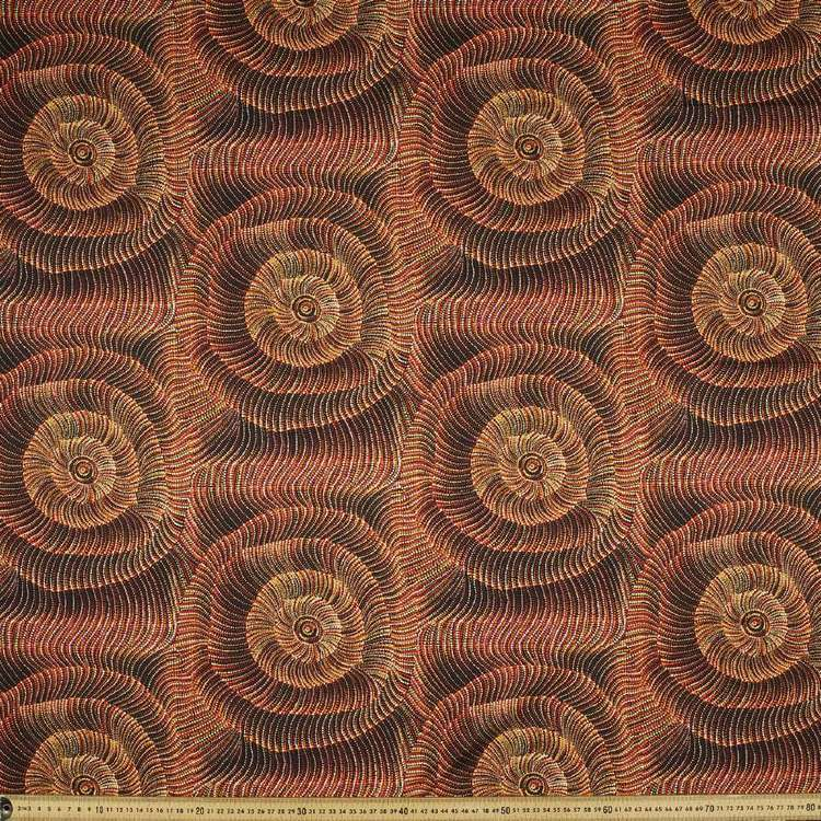 Australiana Indigenous Maureen Sand Dunes 2 Cotton Fabric