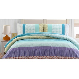Belmondo Alya Cotton Rich Quilt Cover Set