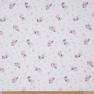 Minnie Mouse Double Muslin Fabric