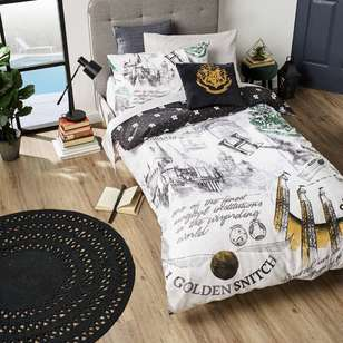 Harry Potter Train Quilt Cover Set