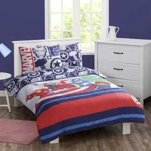 DC Comics Marvel Heroes Quilt Cover Set