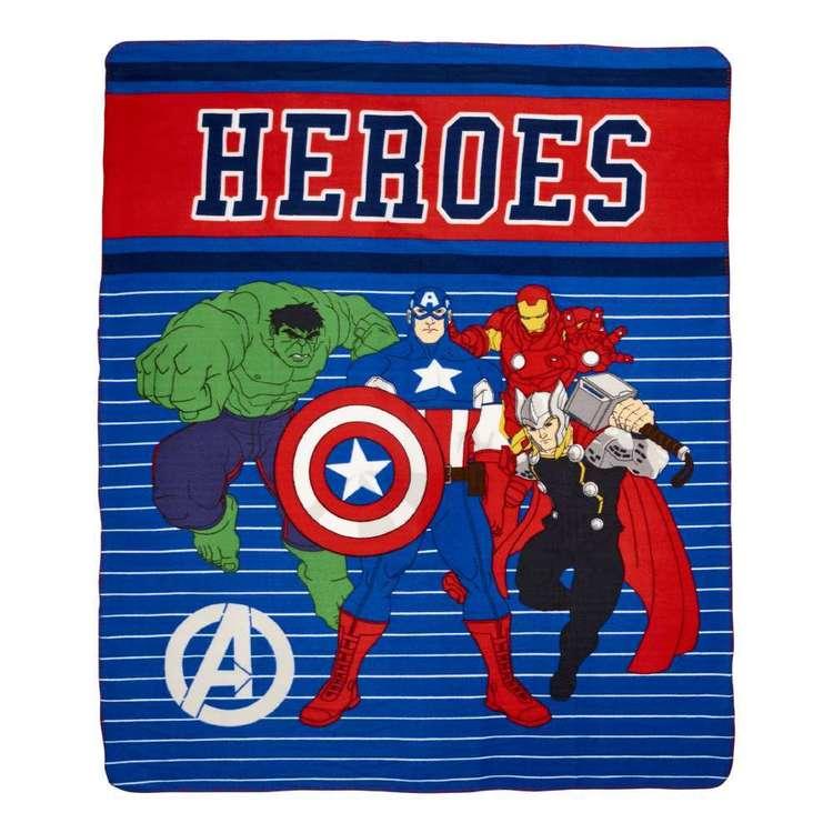 DC Comics Marvel Heroes Throw