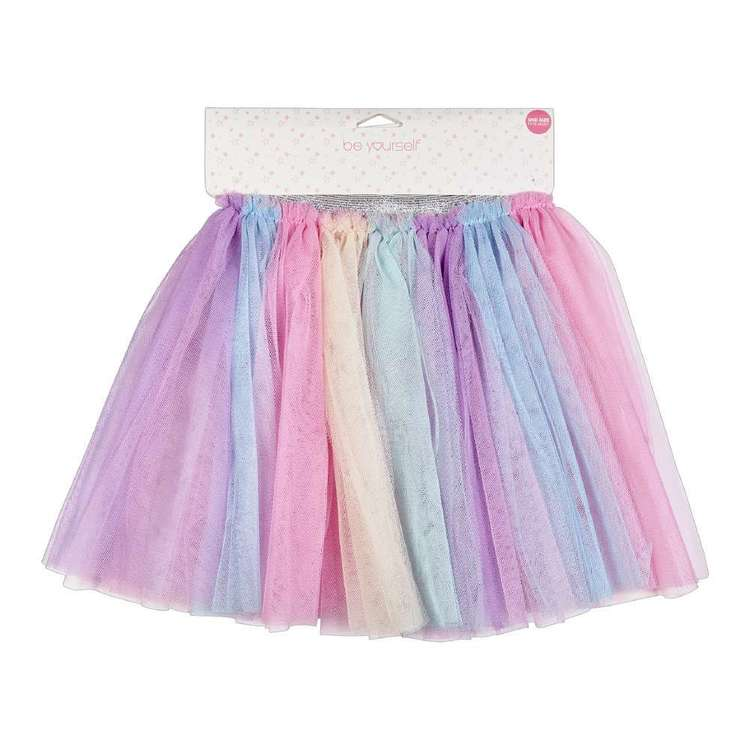 Be Yourself Kids Pastel Stripe Tutu