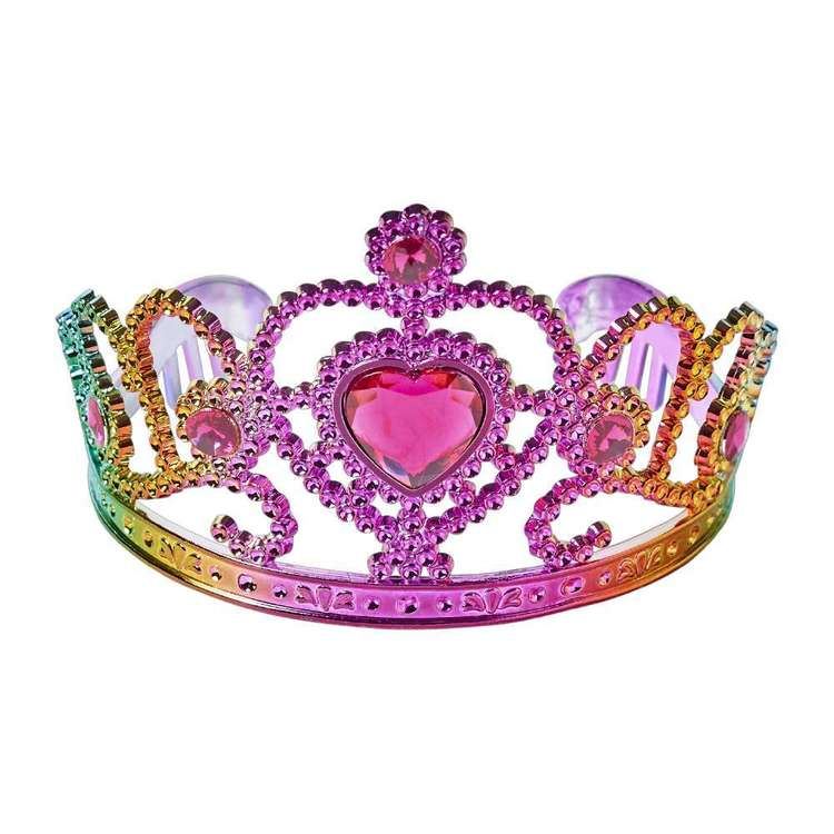 Be Yourself Rainbow Tiara Multicoloured
