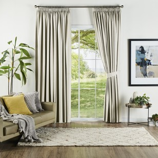 KOO Solis Blockout Pencil Pleat Curtains