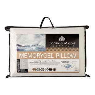 Logan & Mason Memory Gel Pillow