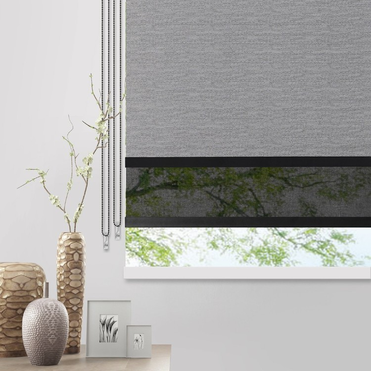 Caprice Platinum Urban Day/Night Roller Blind