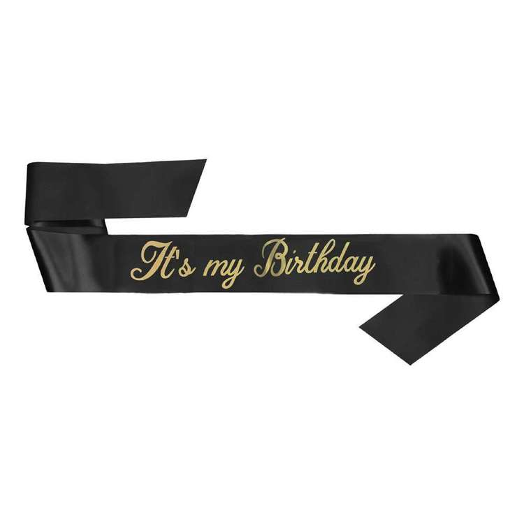 Amscan It's My Birthday Sash
