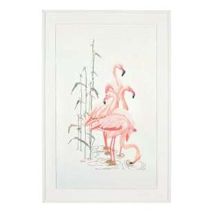 Thea Gouverneur Flamingo Cross Stitch Kit