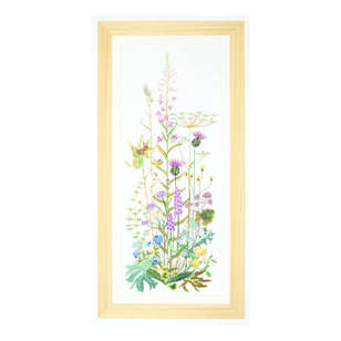 Thea Gouverneur Wild Flowers Cross Stitch Kit