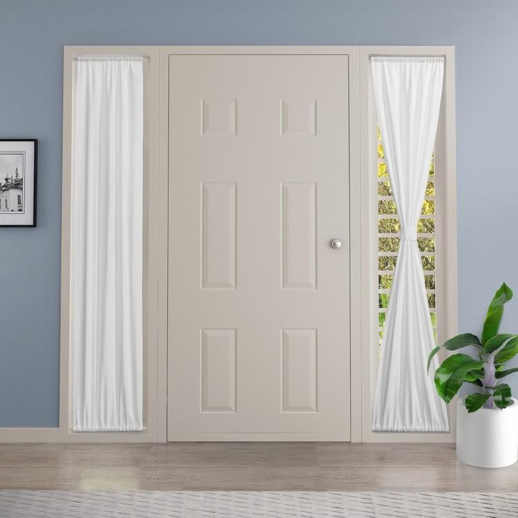 KOO Sidelight Panel Rod Pocket Curtain