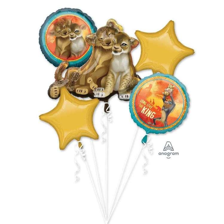 Amscan Lion King Foil Balloon Bouquet