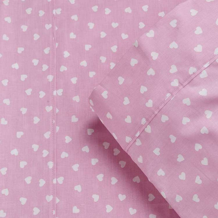 KOO Kids Cotton Heart Fitted Sheet