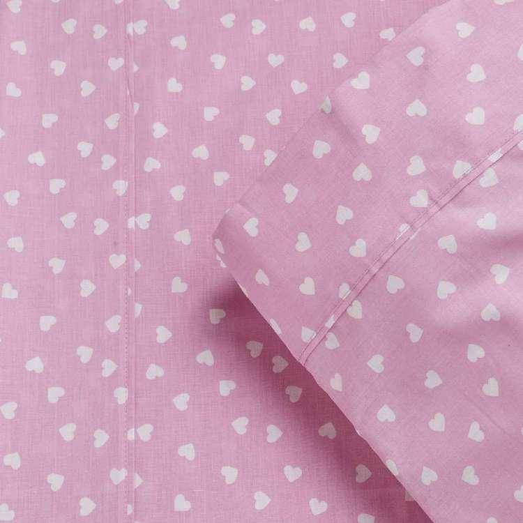 KOO Kids Cotton Heart Pillowcase 2 Pack