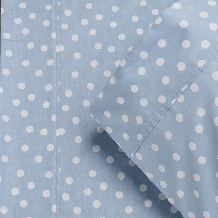 KOO Kids Cotton Spot Fitted Sheet