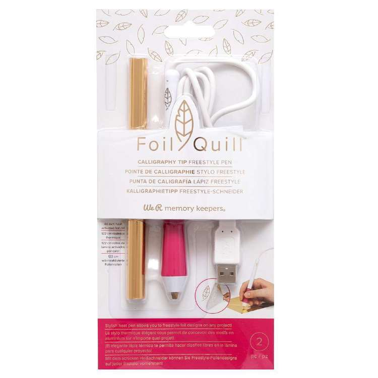 We R Memory Keepers Foil Quill Free Style Calligraphy Tip