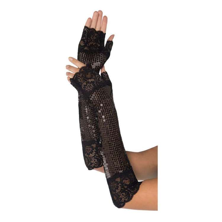Amscan 20s Long Lace Gloves
