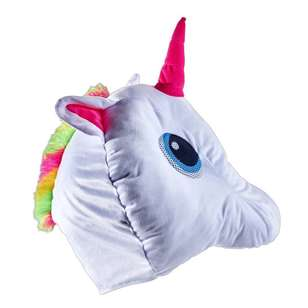 Party Creator Plush Unicorn Head Mask