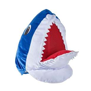 Party Creator Plush Shark Head Mask
