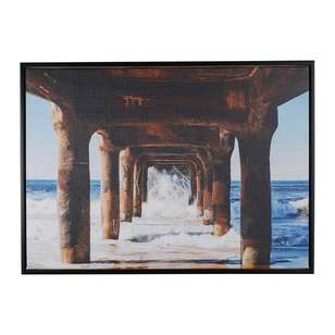 Cooper & Co Pier Framed Canvas Print #2