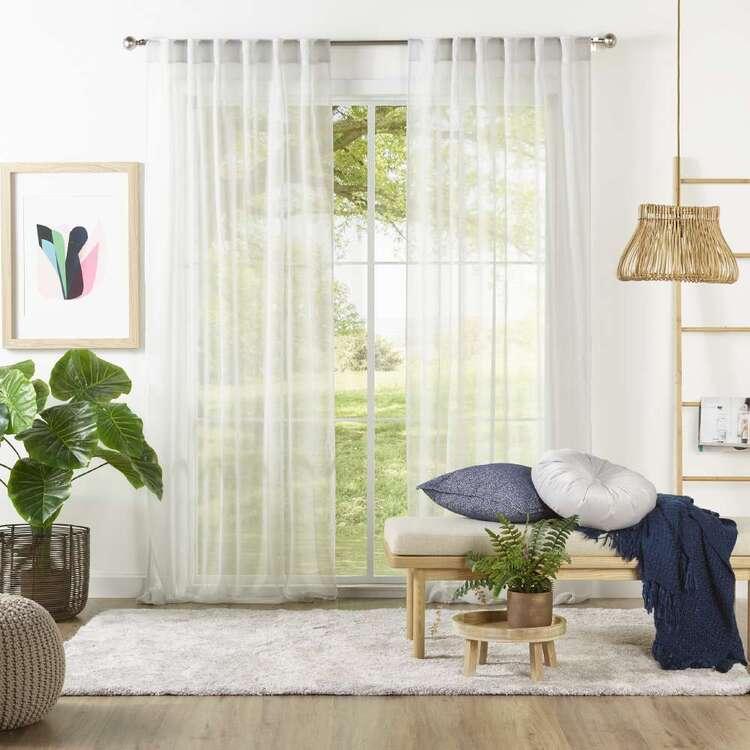 Filigree Esplanade Concealed Tab Sheer Curtains