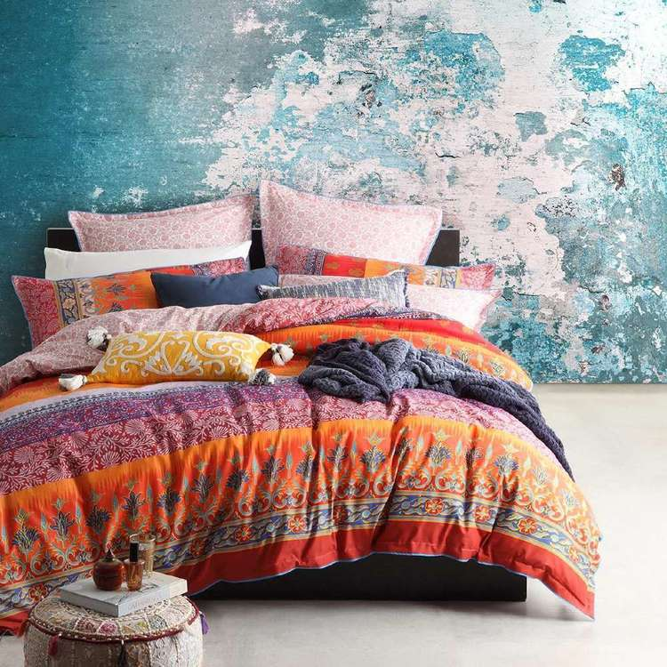 Logan Amp Mason India Spice Quilt Cover Set