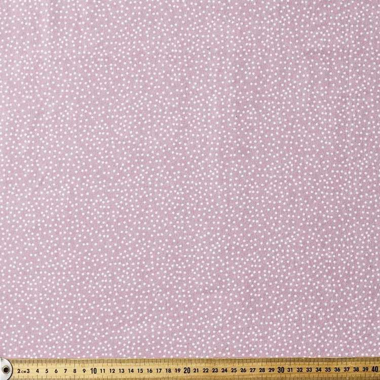Dots Printed Flannelette Fabric