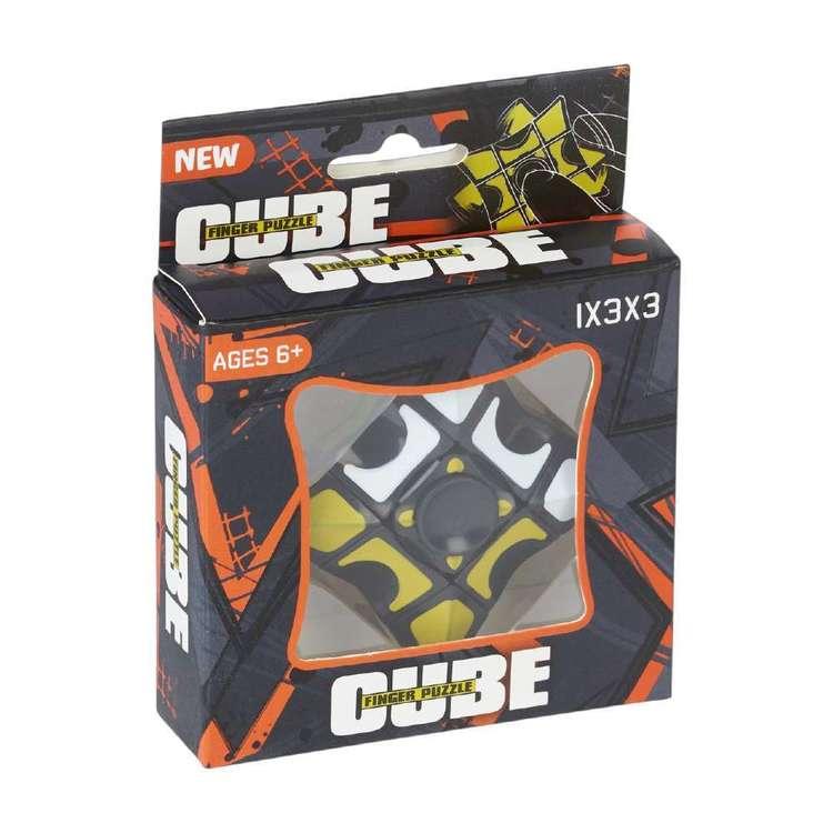 Cube Finger Puzzle
