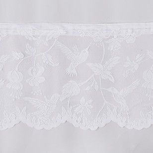 Filigree Jardin Valance Sheer