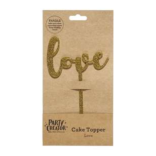 Party Creator Love Cake Topper
