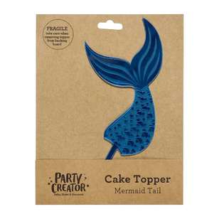Party Creator Mermaid Tail Cake Topper