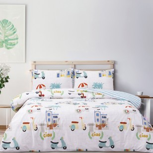 Brampton House Ciao Quilt Cover Set