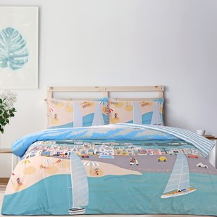 Brampton House Riviera Quilt Cover Set