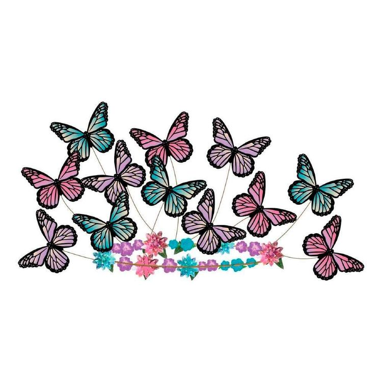 Amscan Butterfly Fantasy Head Wreath