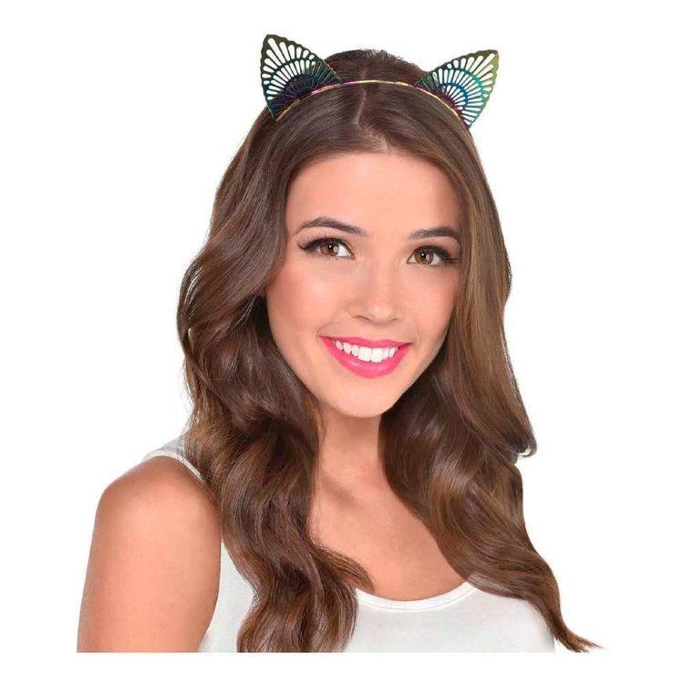 Amscan Rainbow Cat Filigree Ears