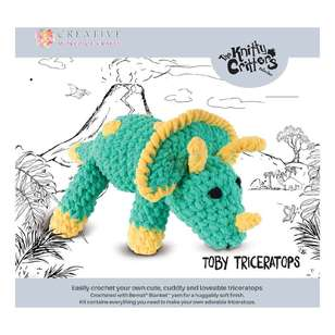 Knitty Critters Toby Triceratops Pattern