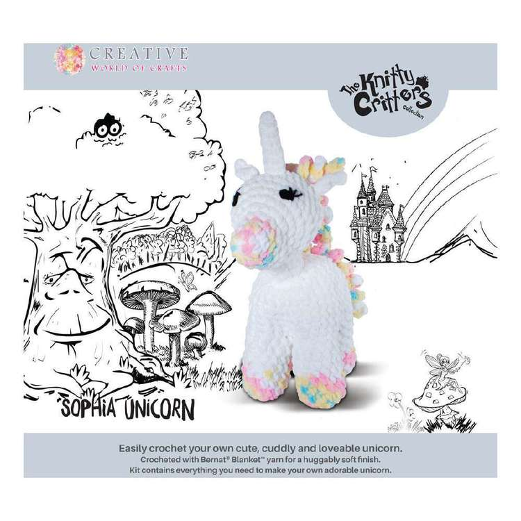 Knitty Critters Sophia Unicorn Pattern