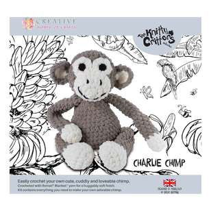 Knitty Critters Charlie Chimp Pattern
