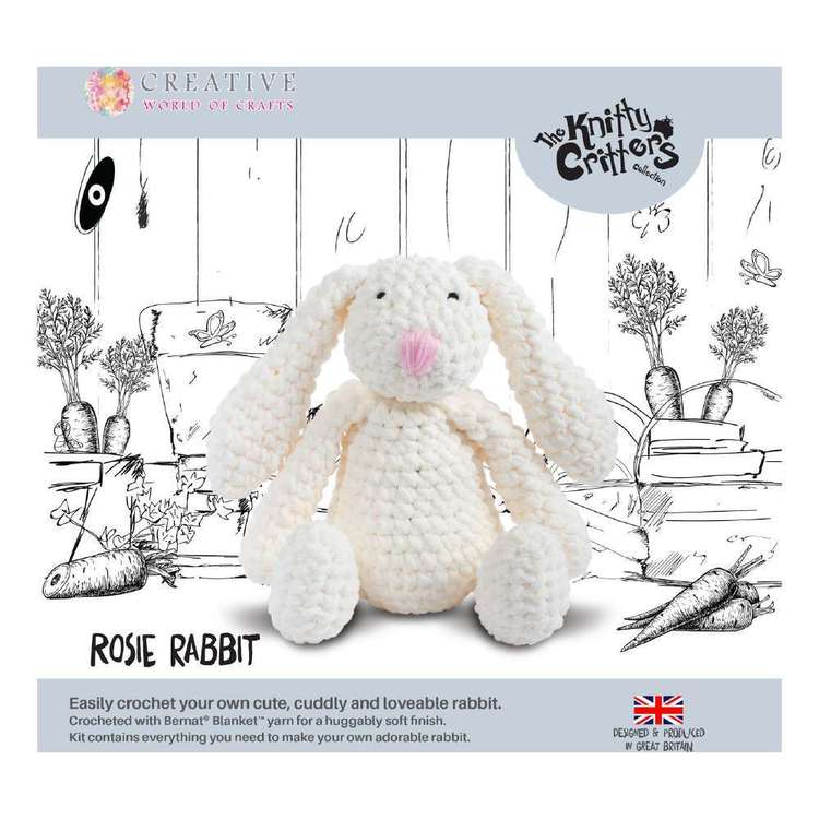 Knitty Critters Rosie Rabbit Pattern