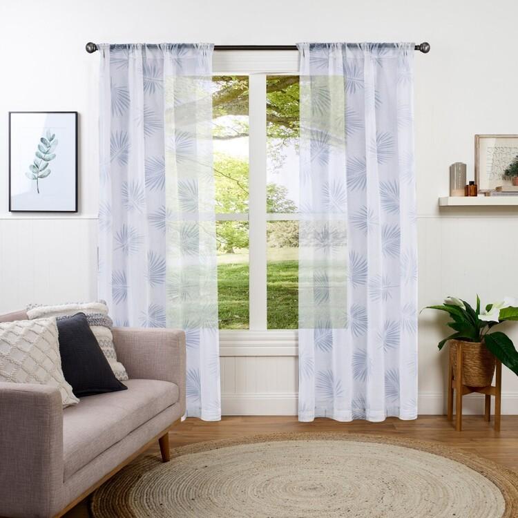 KOO Karmi Sheer Rod Pocket Curtains