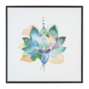 The Art Group Tag Lotus Flower Framed Canvas By Summer Thornton