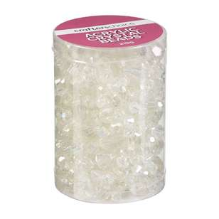 Crafters Choice Acrylic Crystal Bead In Tube