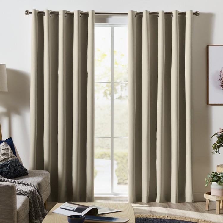 Wilsons Kakadu Blockout Eyelet Curtains