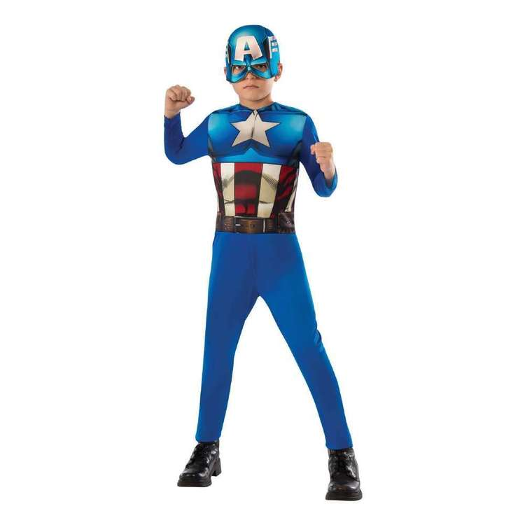 Marvel Captain America Kids Costume